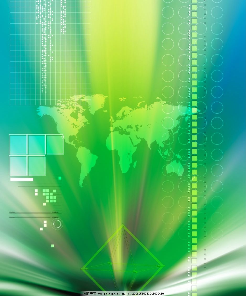 数码科技psd分层素材图片