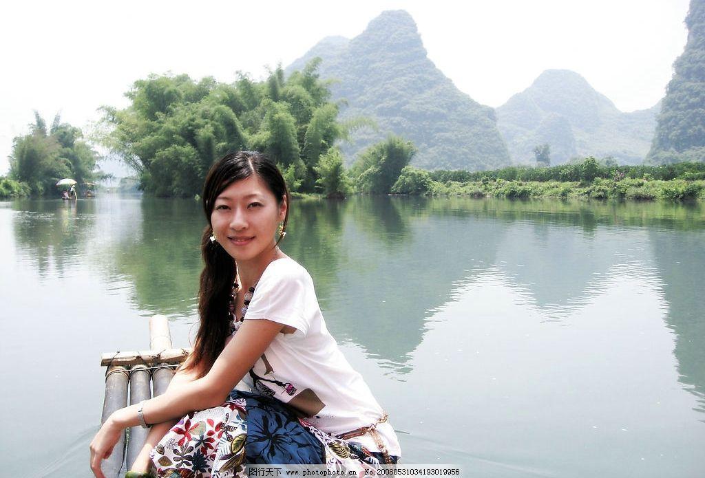 桂林 阳朔 遇龙河 旅游摄影 自然风景 摄影图库 180 jpg