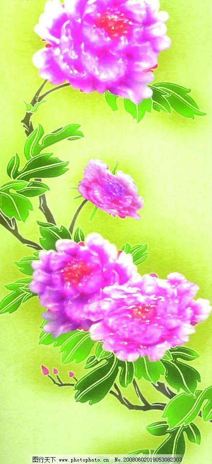 牡丹画 牡丹花 文化艺术 绘画书法 设计图库 jpg