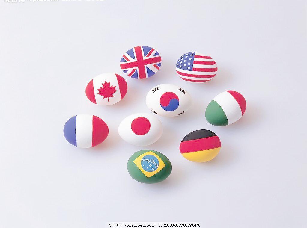 国旗蛋图片免费下载 350 jpg 卡通玩具 其他 摄影图库 图片素材 国旗
