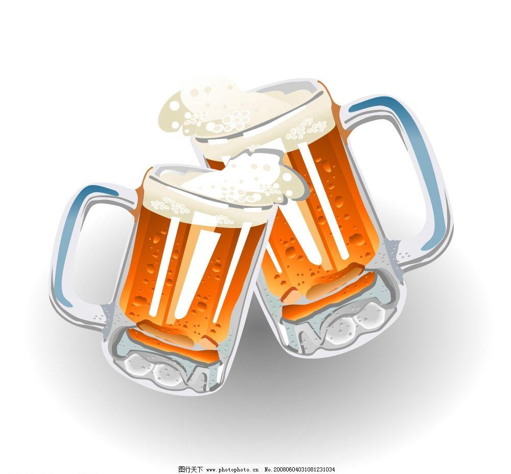 矢量杯子与冰块 矢量水杯 冰块 饮料 广告设计 其他设计 设计素材