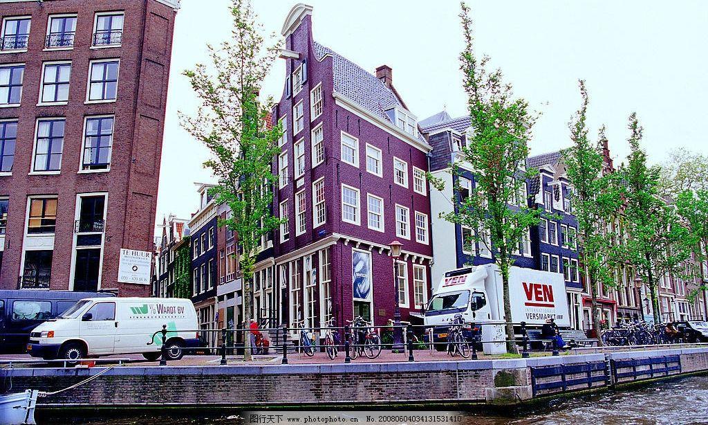 荷兰水上风景图片