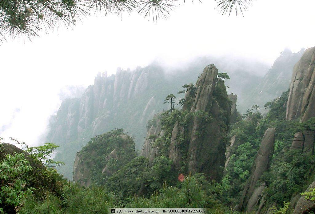 三清山 江西 松树 奇峰 怪石 旅游摄影 自然风景 旅游风光 摄影图库