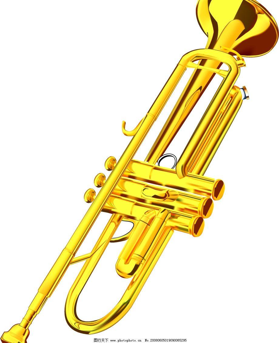 矢量乐器-小号图片