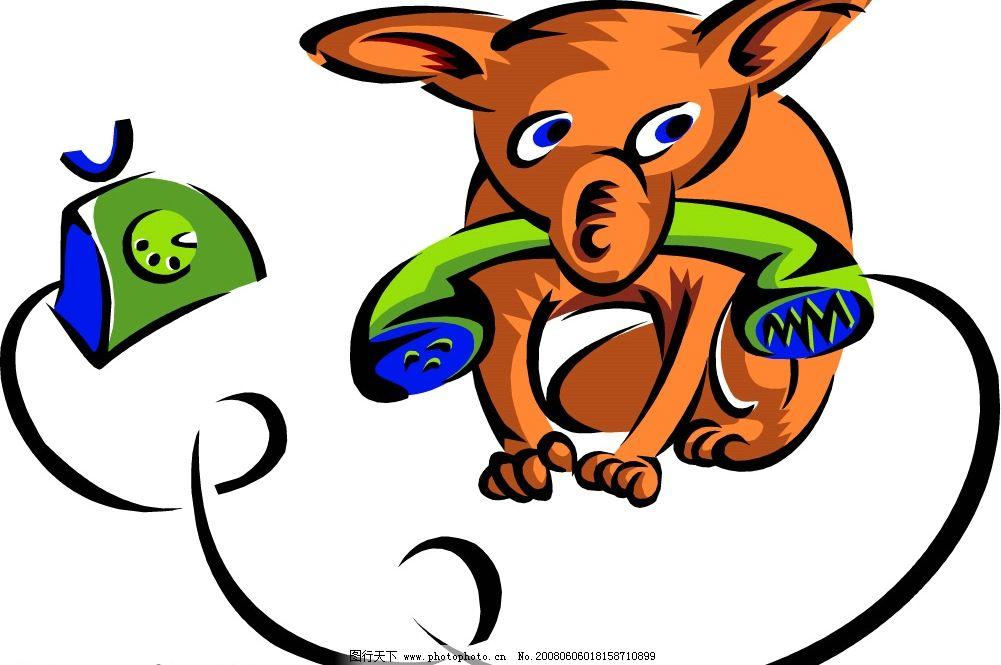 ai格式 生物世界 其他生物 卡通老鼠矢量图 矢量图库   wmf
