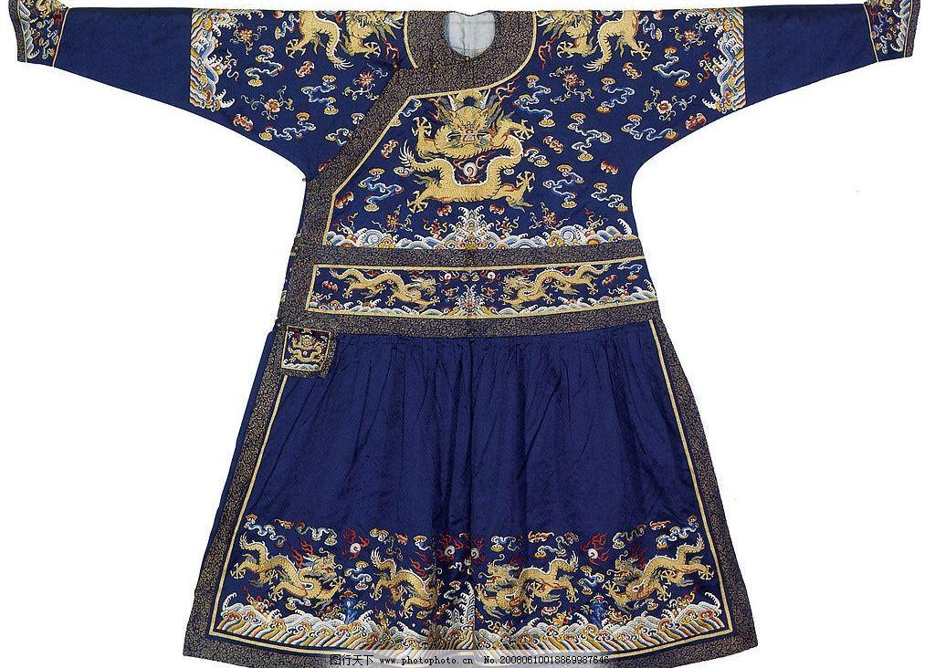 传统文化 中国传统刺绣纹样 摄影图库 设计图库 jpg 300dpi 高清龙袍