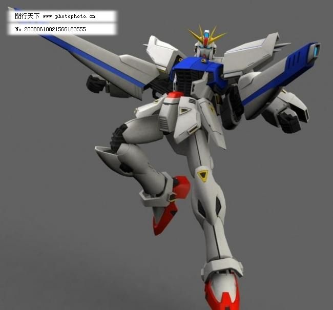 3d模型 高达f91 机器人图片