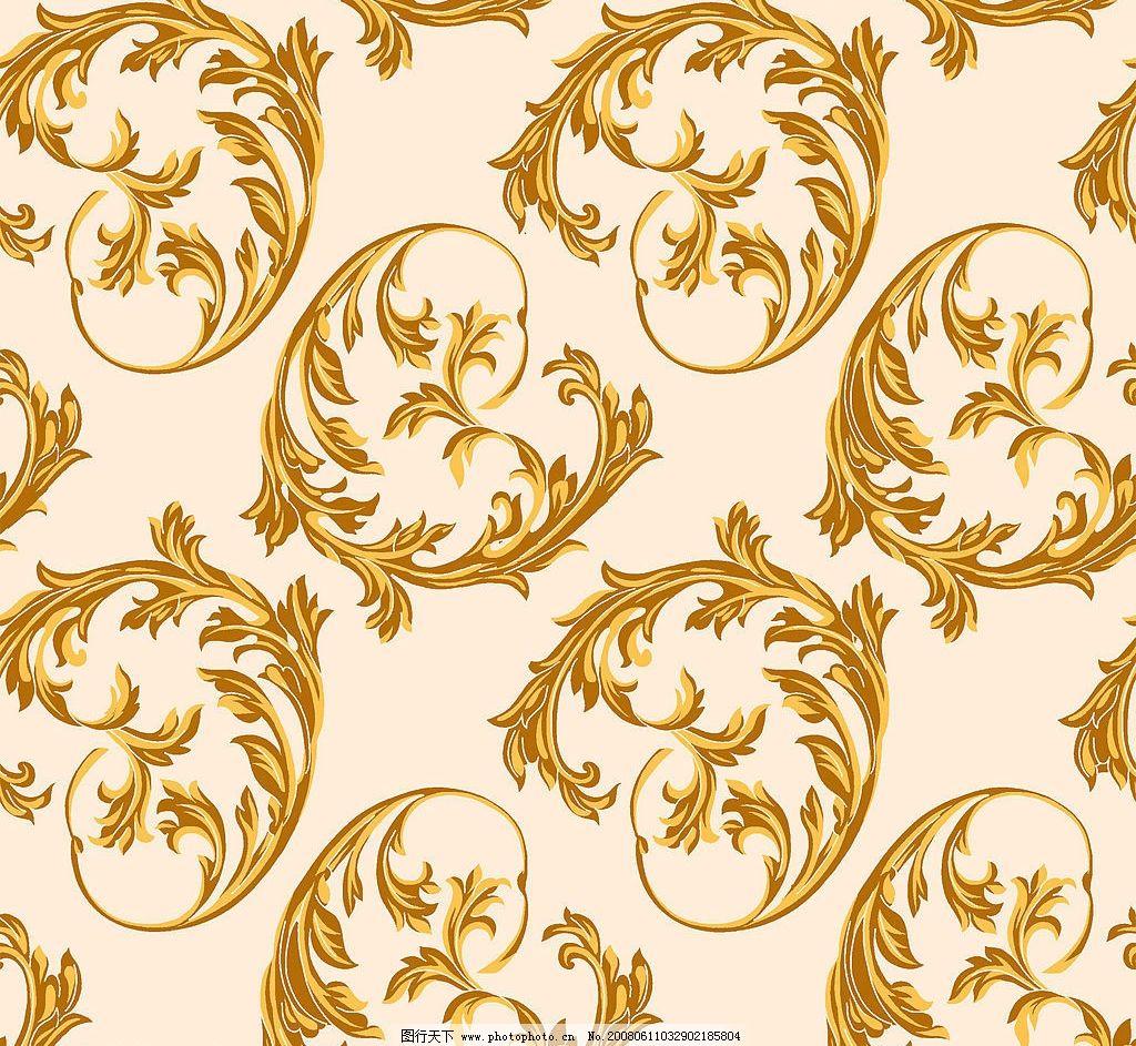 时尚花纹背景 花纹 psd分层背景 金黄色花纹 psd分层素材 背景 源文件