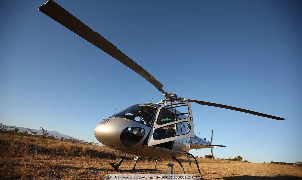 小型直升机 直升机 直升飞机 现代科技 交通工具 飞机 摄影图库 72