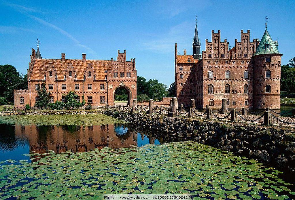 欧式建筑风光 欧式 古堡 湖泊 建筑园林 建筑摄影 欧式建筑风情 摄影