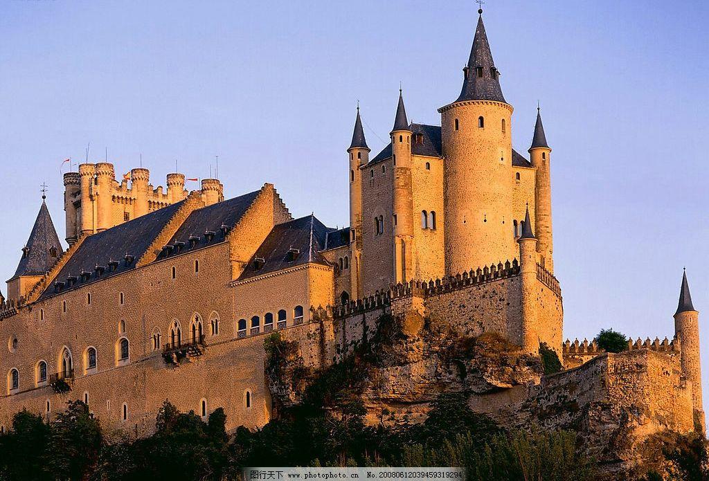 欧式建筑风光图片图片