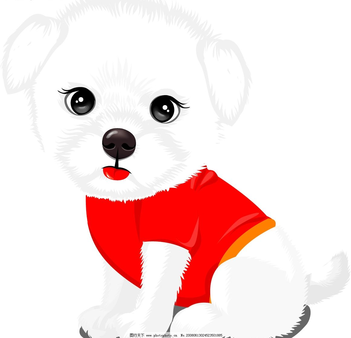 狗狗 可爱的小狗! 生物世界 家禽家畜 矢量图库   ai
