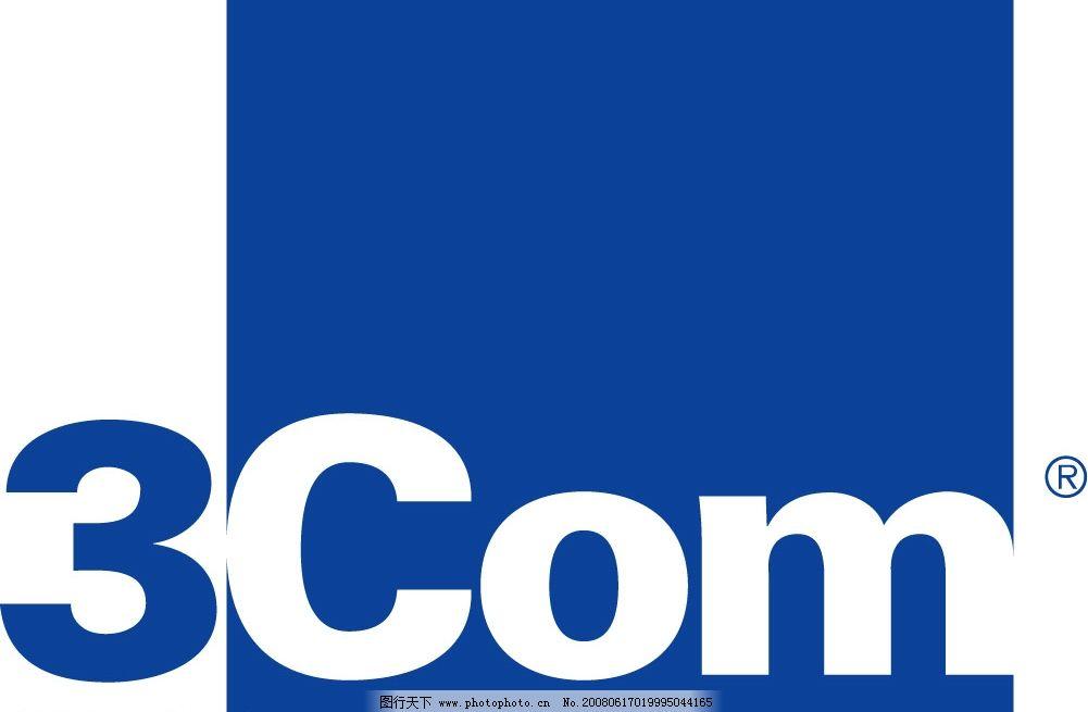 华为3com 标识标志图标 企业logo标志 3com 矢量图库   ai