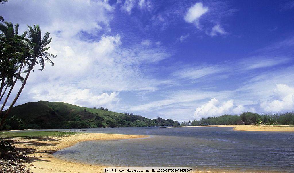 沙滩海岸02 阳光 自然景观 自然风景 摄影图库