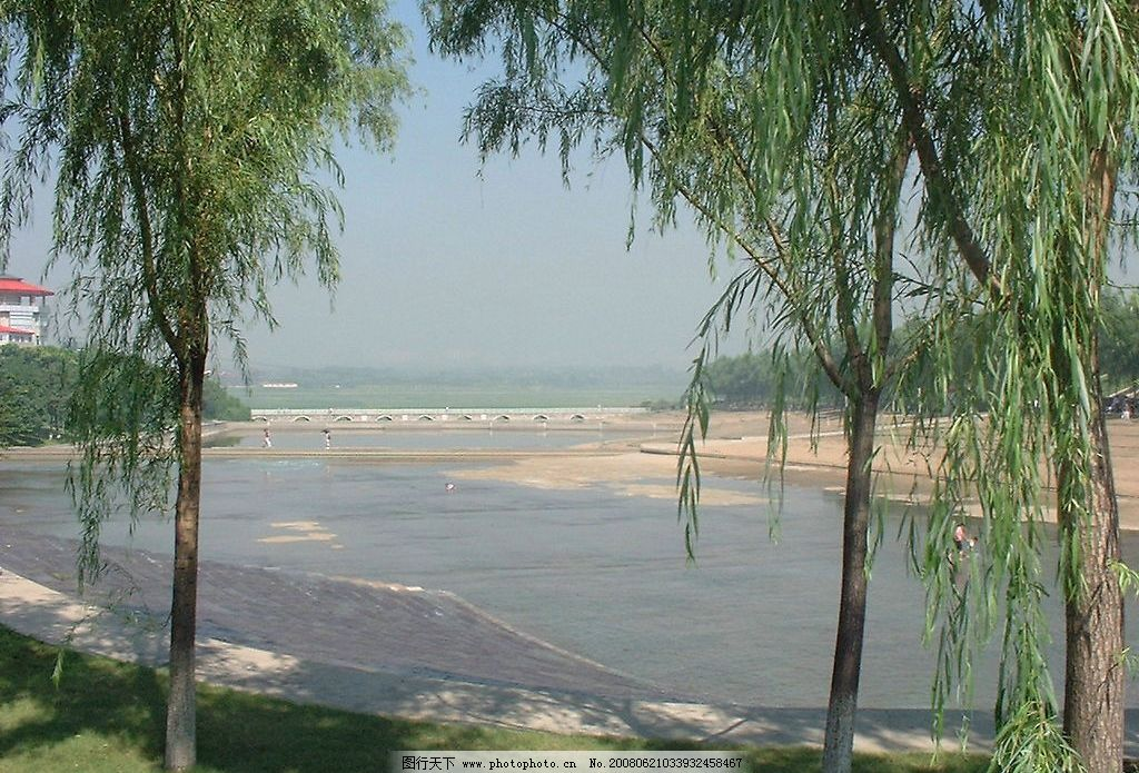 沙滩浴场图片,风景 自然风景 青龙湖 摄影图库-图行