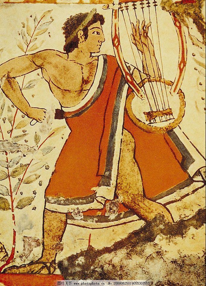 埃及壁画 动物