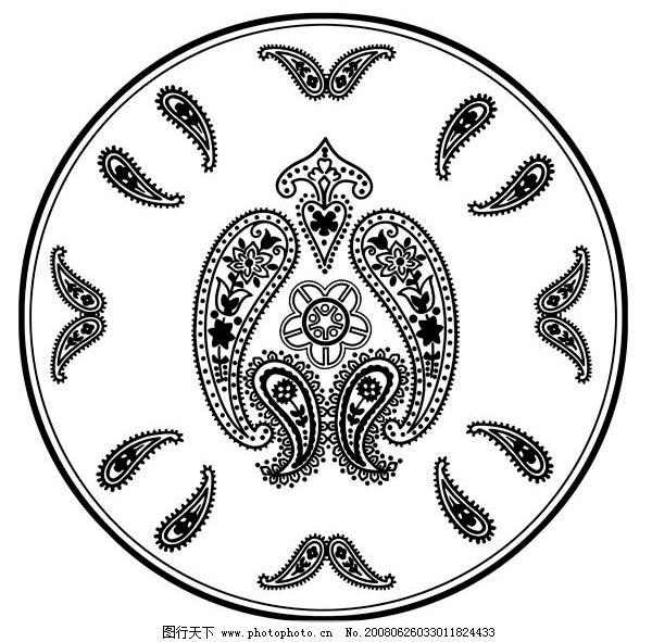 瓷器花纹图片