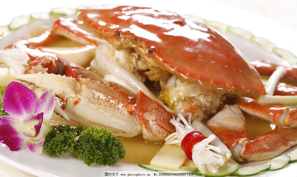 螃蟹 餐饮 酒店 海鲜 美食 摄影图库